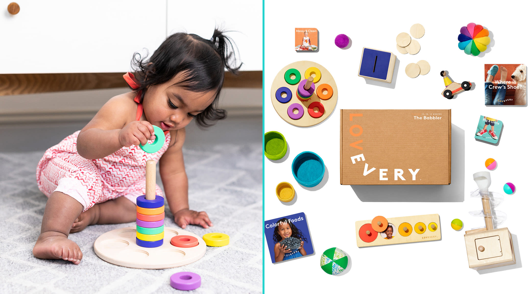love every launches a curated baby toy subscription service