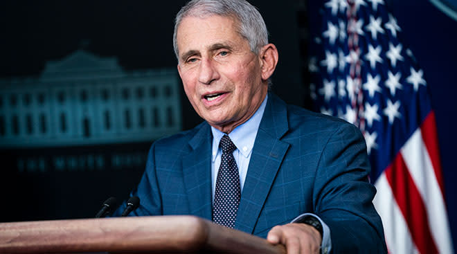 Dr. Fauci, chief medical advisor to the president.