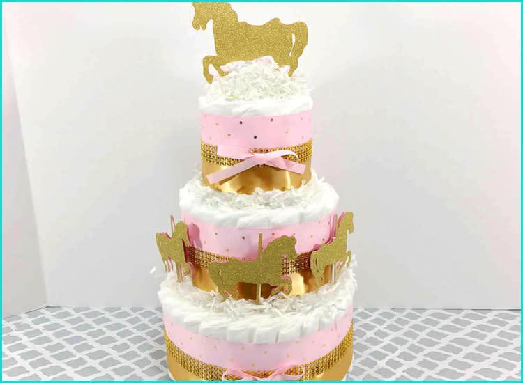 8db668674 etsy-carousel-horse-baby-shower-diaper-cake