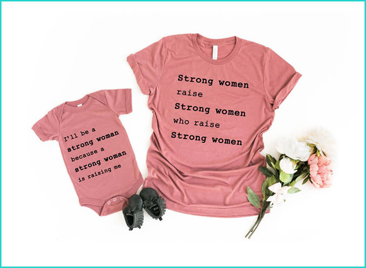 fbee10eff Empowering Mommy and Me Tees for Budding Feminists