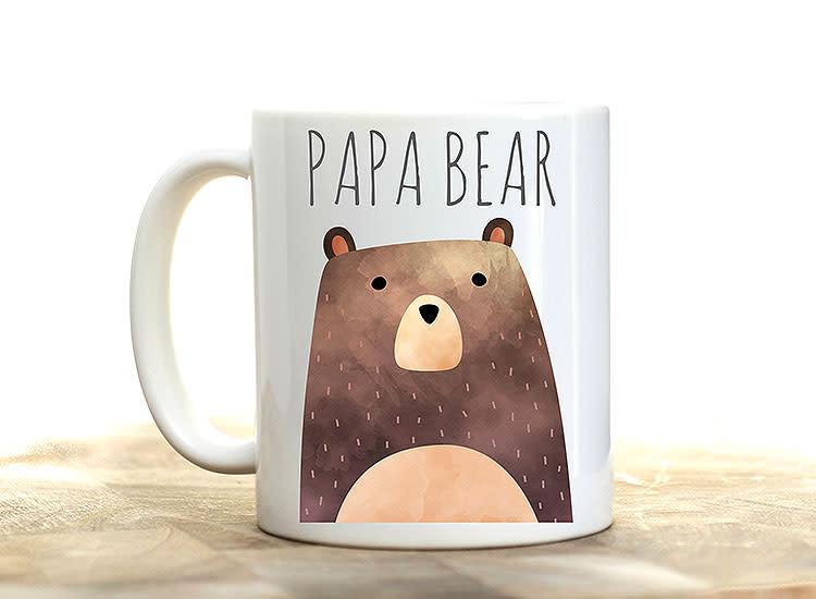 Hug in Mug Design Papa Bear Mug