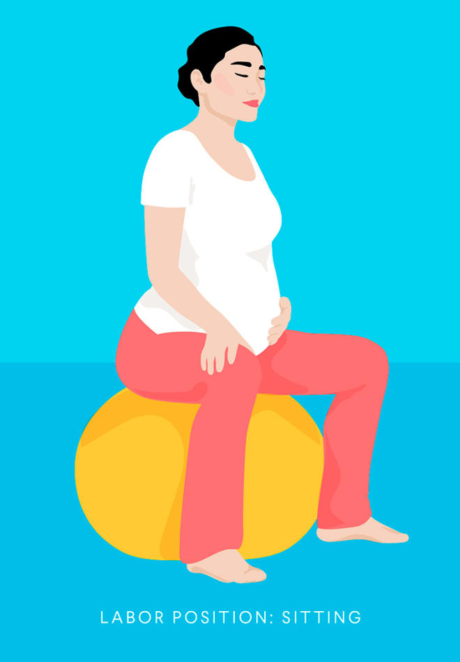 13 Best Labor And Birthing Positions