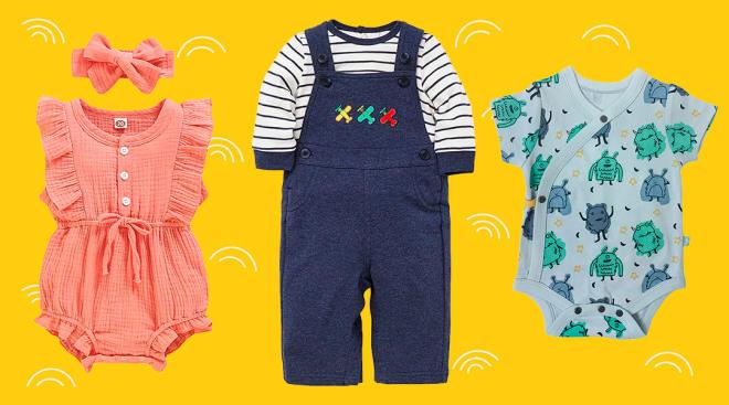 amazon baby clothes brands
