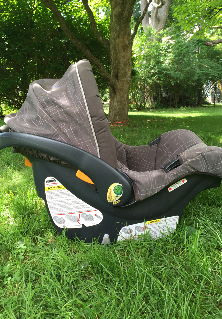 How to Wash an Infant Car Seat
