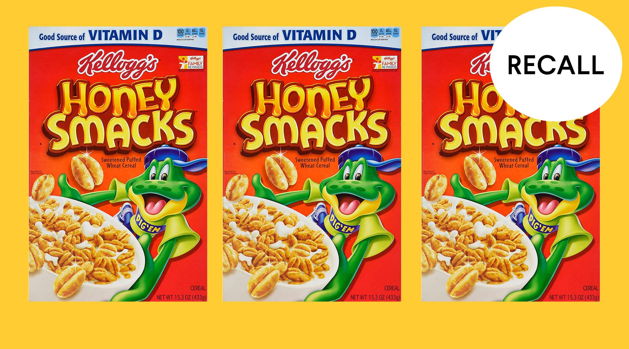 honey smacks cereal recall due to Salmonella
