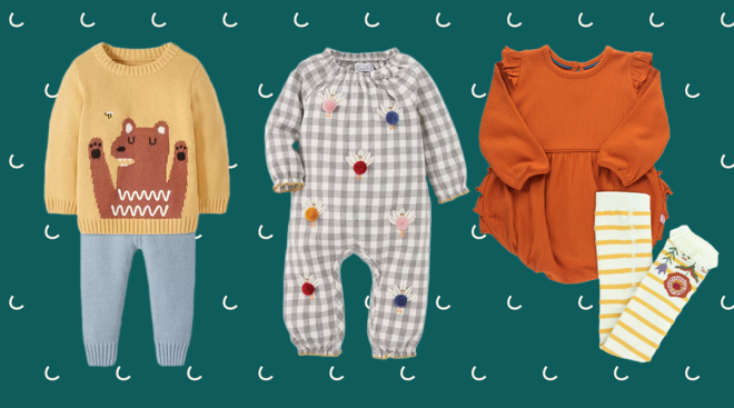 fall thanksgiving baby clothes
