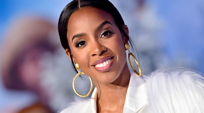 kelly rowland announces she's pregnant