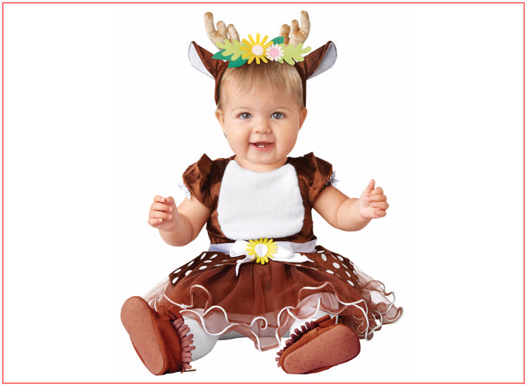 baby halloween costumes cute deer