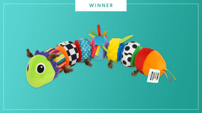 The Lamaze Mix and Match Caterpillar wins the 2017 Best of Baby award from The Bump