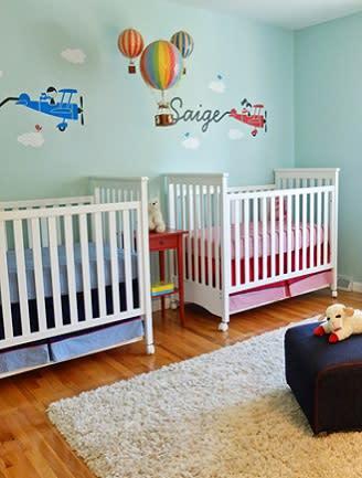 nursery ideas for twins