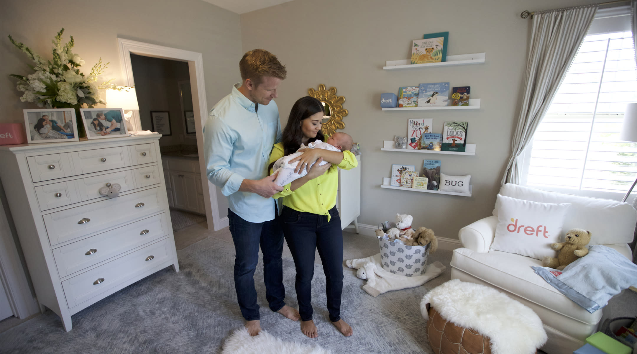 Tour Catherine And Sean Lowe S Cool Contemporary Nursery