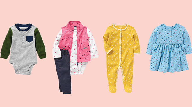 Baby clothing brand Carter's launches recycling program.