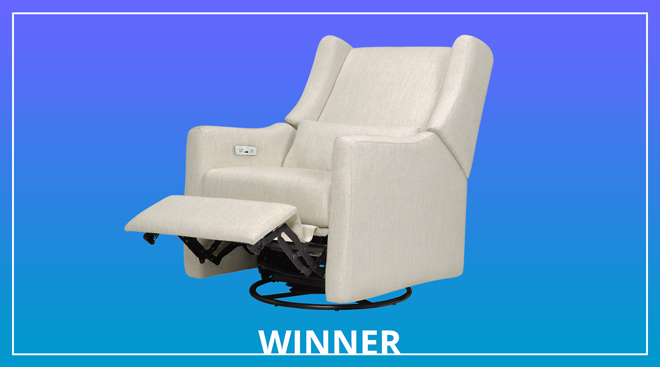 babyletto kiwi electronics swivel glider