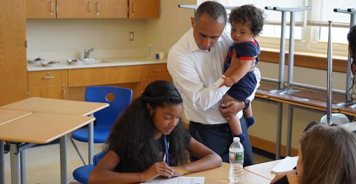 Providence Mayor Ignites Debate by Bringing His Baby to Work