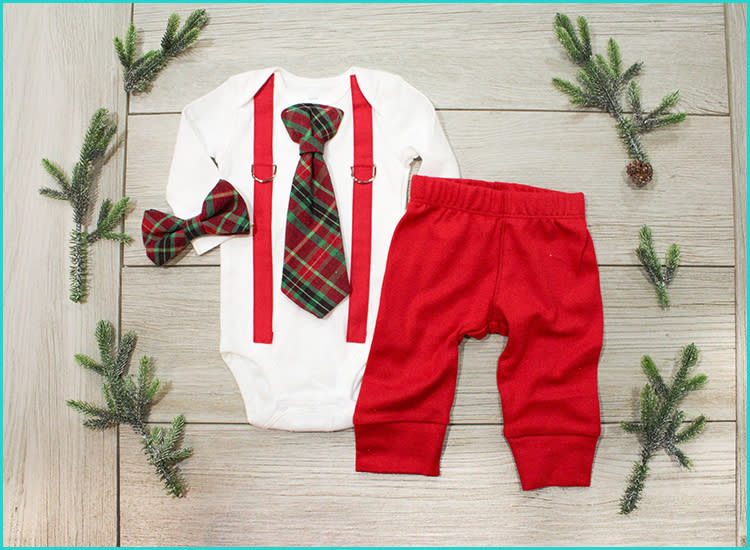 16 Cute Baby And Toddler Christmas Outfits In 2020