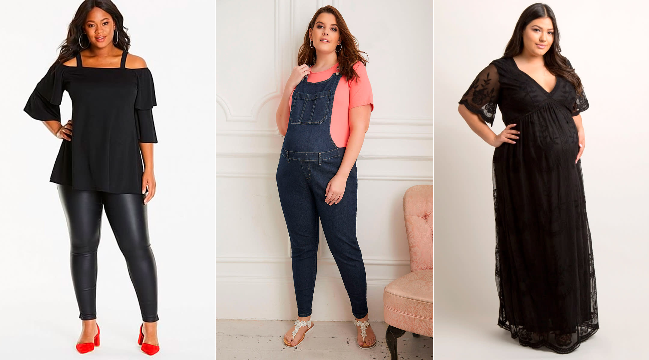 best stores for plus size maternity clothes