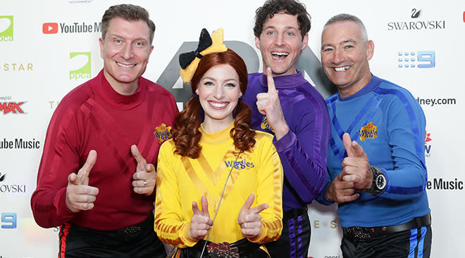 the children's musical group, the wiggles