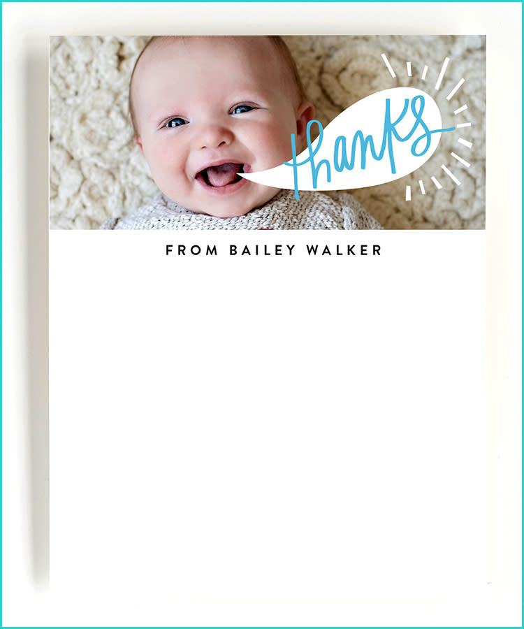Etiquette For Sending Baby Shower Thank You Cards