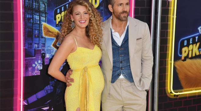 pregnant blake lively with ryan reynolds