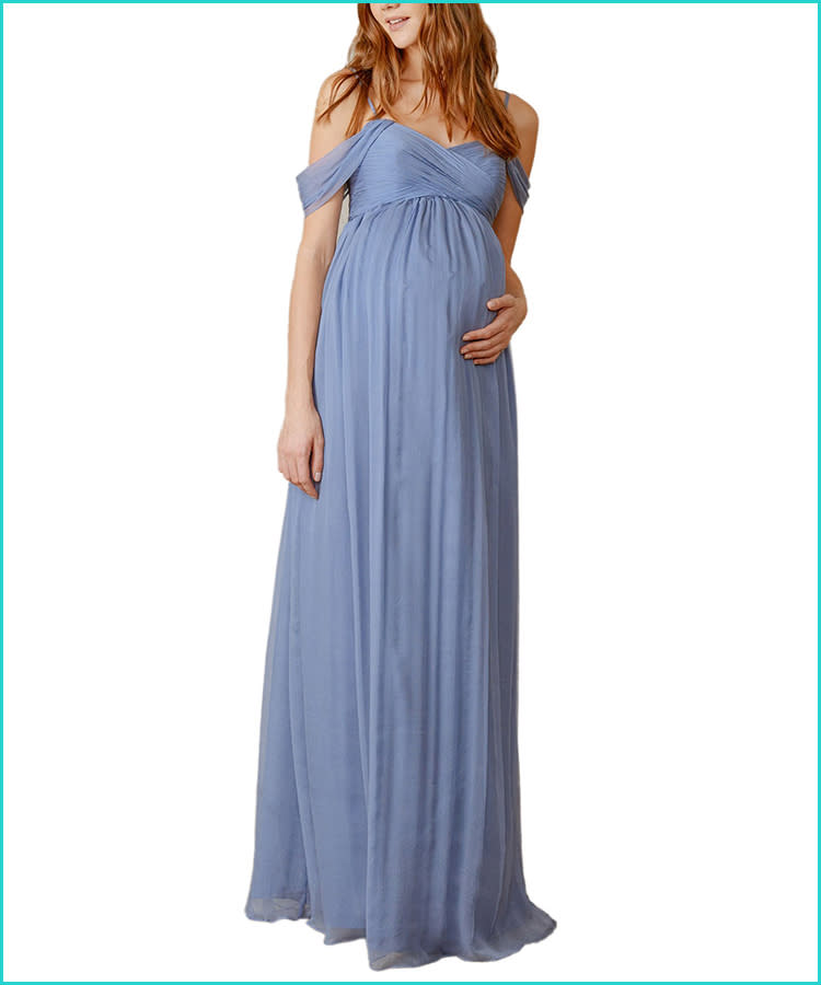 4467d02e5eb65 27 Maternity Bridesmaid Dresses for Any Style and Size