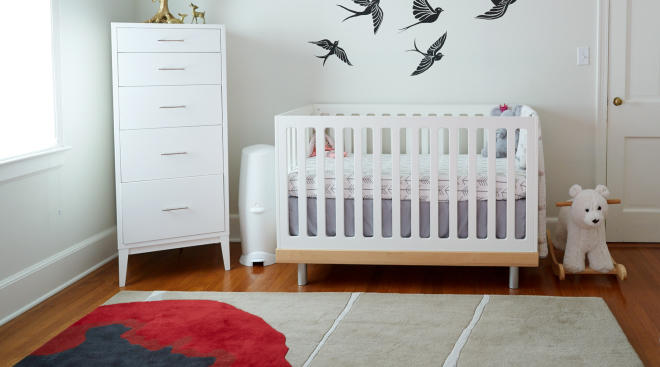 interior nursery crib