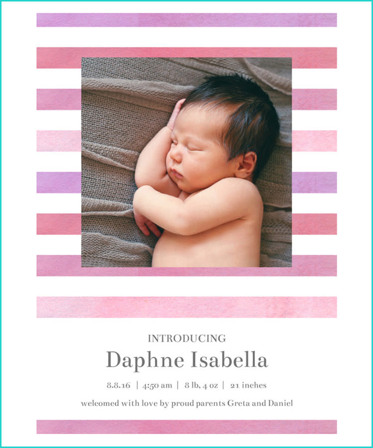 9bf0d0389 21 Birth Announcement Ideas and Wording