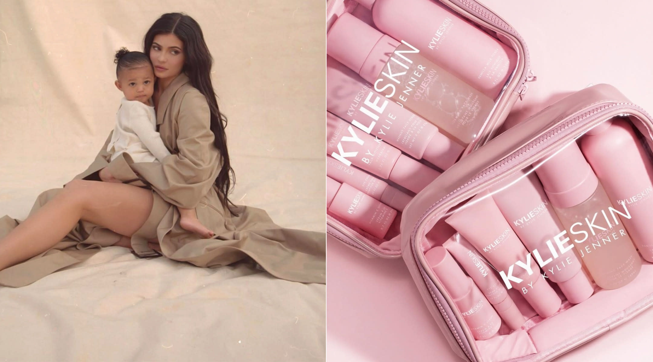 kylie jenner releases skincare line