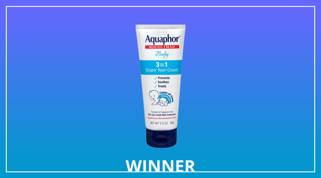 aquaphor baby diaper rash cream