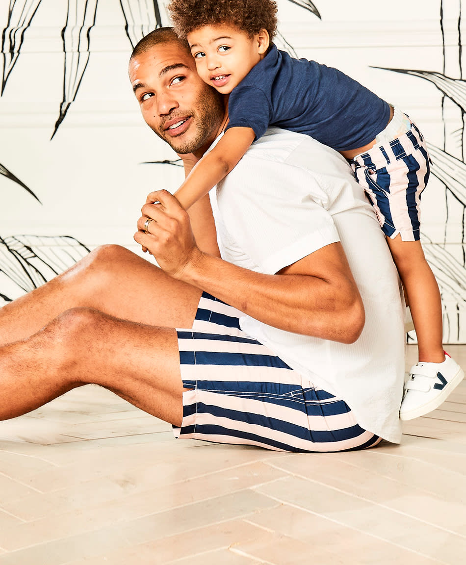 9105968d14 Janie and Jack Debuts Father-Son Swim Collection