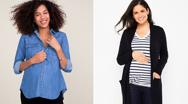 maternity clothes that will last you beyond the bump