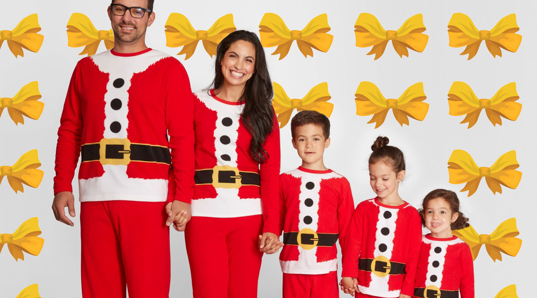 726330a3f0 Target Has a Collection of Holiday Matching PJs for the Family