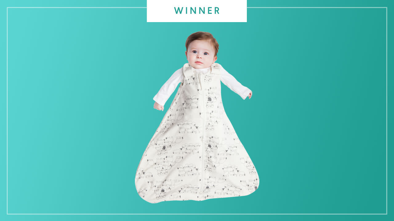 The Ergobaby Sleeping Bag and Swaddle Set wins the 2017 Best of Baby award from The Bump