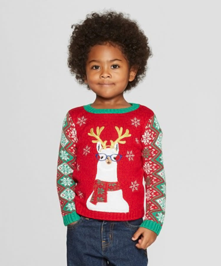 f33ce3c551ac 17 Baby Ugly Christmas Sweaters Too Cute Not To Wear