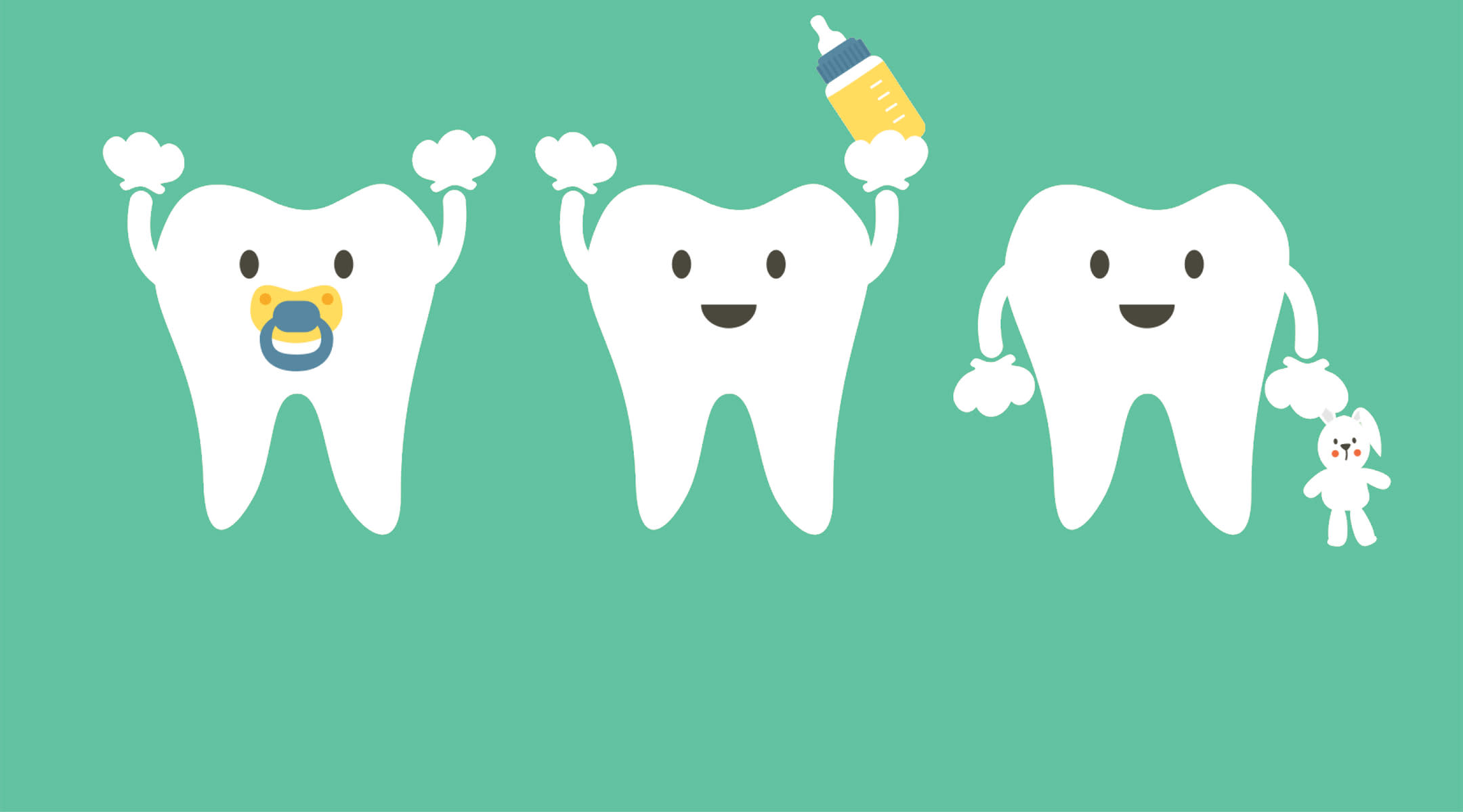 Baby Teeth Illustration