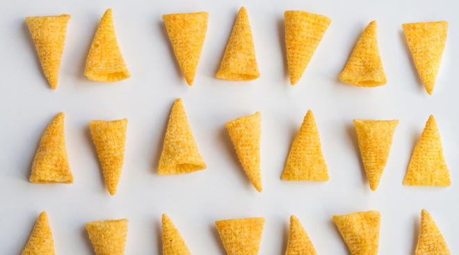 bugles processed food