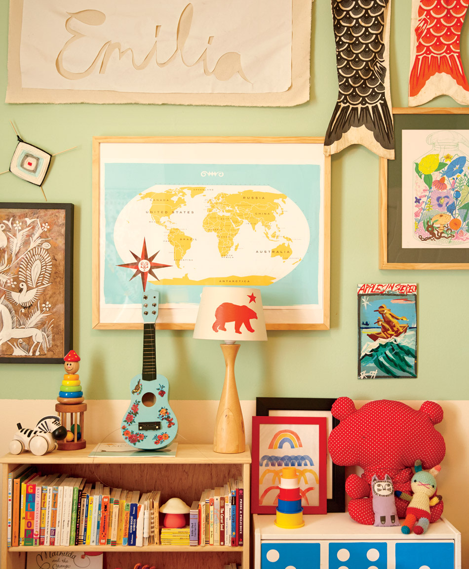 21 inspiring nursery wall decor ideas amipublicfo Image collections