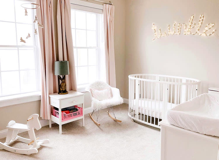 43 Baby Girl Nursery Ideas For A Swoon-Worthy Room