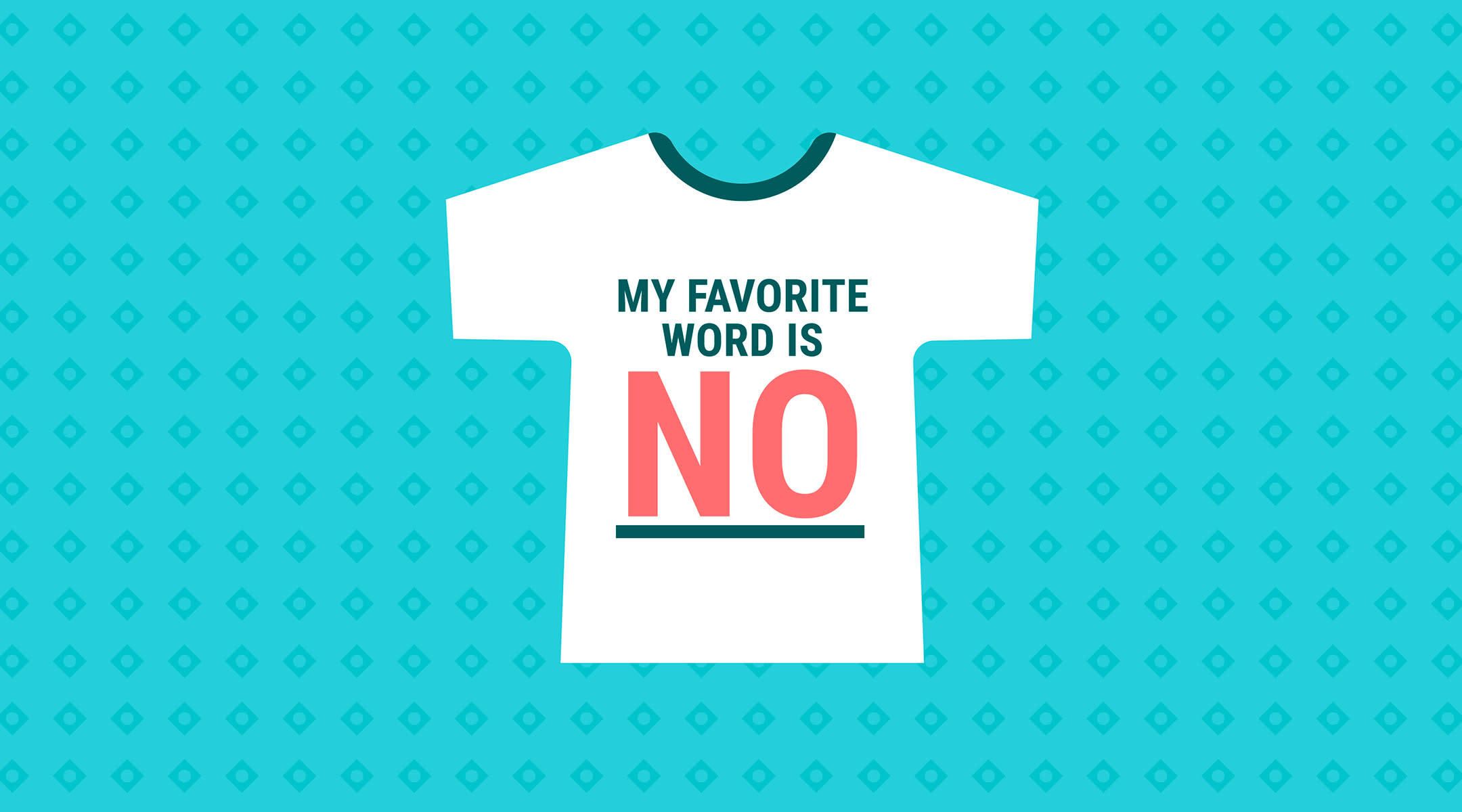 toddler graphic t-shirt that says, my favorite word is no