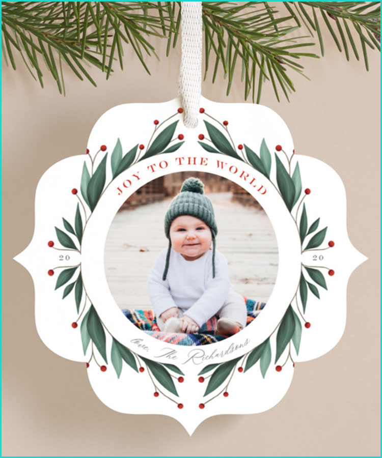 Baby/'s First Christmas Ornament Baby/'s 1st Christmas Ornament Baby Lion Birth Stats Ornament Personalized Ornament