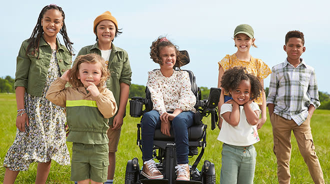JC Penny launches inclusive clothing kids line.