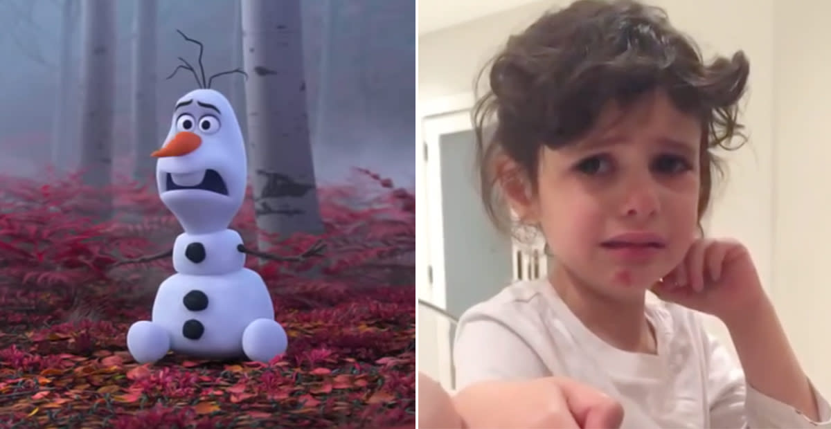 Frozen 2 Star Reveals Daughter Was Inspiration for Olaf's Storyline