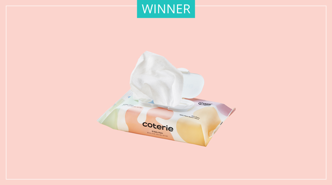 Coterie water wipes