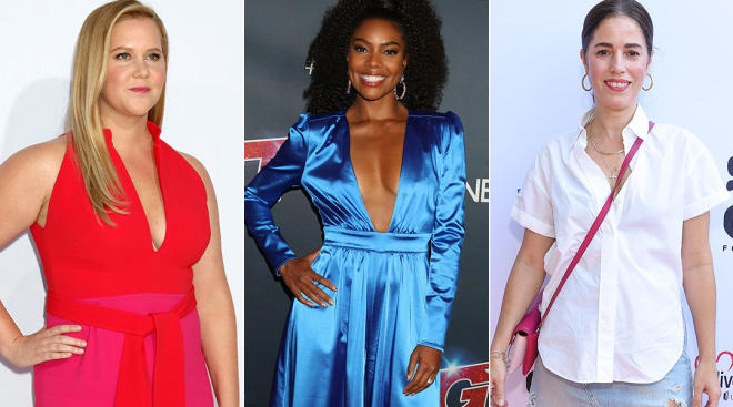 cleberities amy schumer, gabrielle union and ana oritz fight for moms and their invisible labor