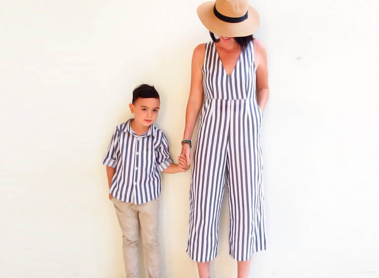 a3723574d3466 29 Cutest Mommy and Me Outfits for Baby Girls and Boys