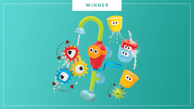 The Yookidoo Spin N Sort Spout Pro wins the 2017 Best of Baby award from The Bump