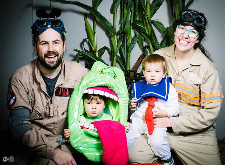 family halloween costume ghostbusters