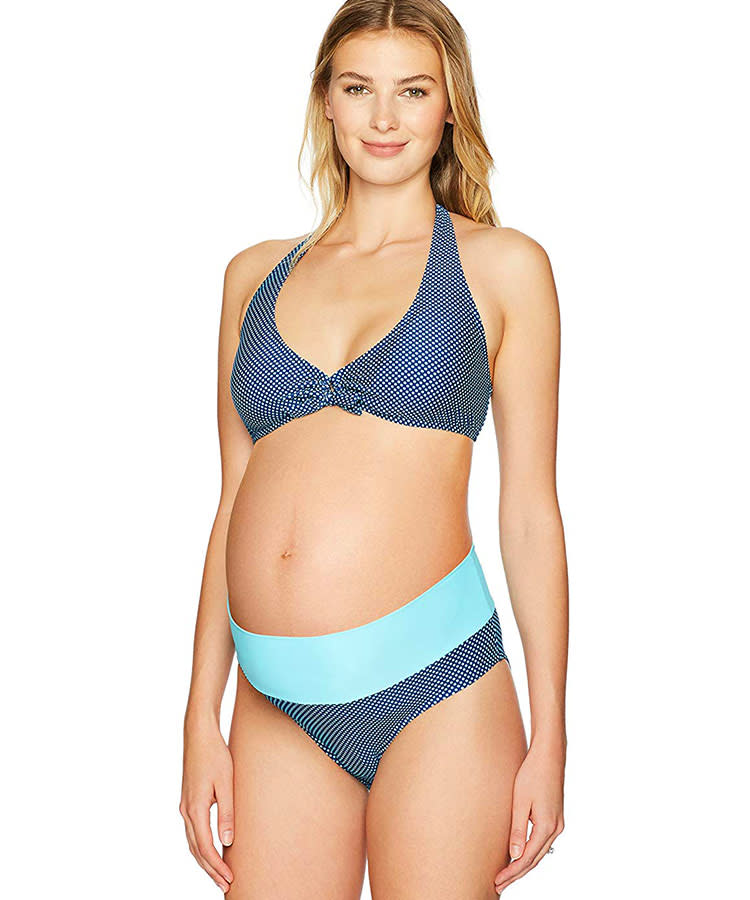 2ff24f63d4d Maternity Swimwear: 36 Cutest Maternity Bathing Suits