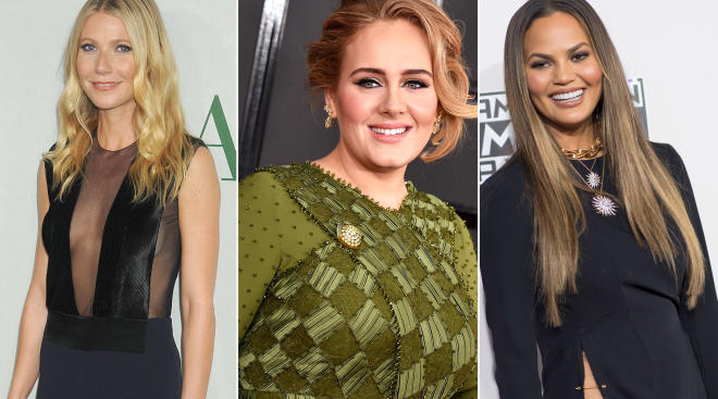 Chrissy Teigen, Gwyneth Paltrow and Adele each are celebrities who have dealt with postpartum depression.