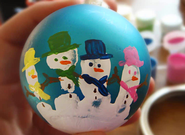 18 Easy Christmas Crafts For Toddlers