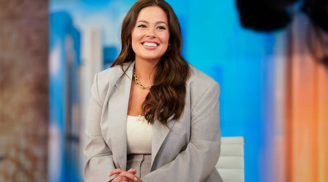 Model and personality Ashley Graham is pregnant with her second baby.